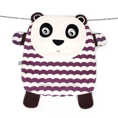 Oribel Peripop Pandy - Sac de rangement 4-en-1 Panda