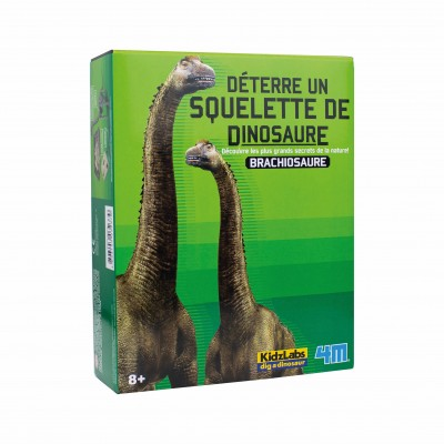 4M - Déterre un squelette de dinosaure - Brachiosaure