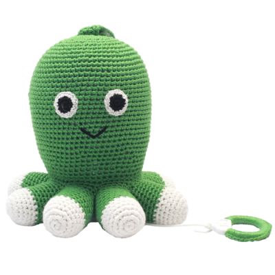 NatureZOO Music box - Mr. Octopus (green)