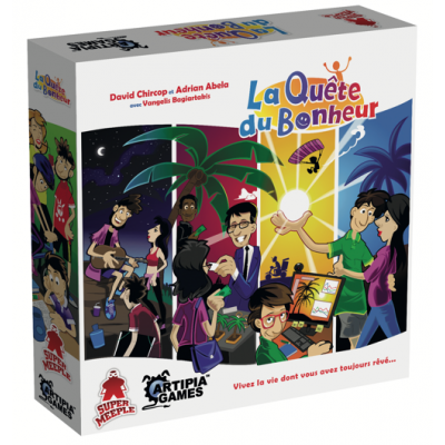 Supermeeple The Quest for Happiness (French version)