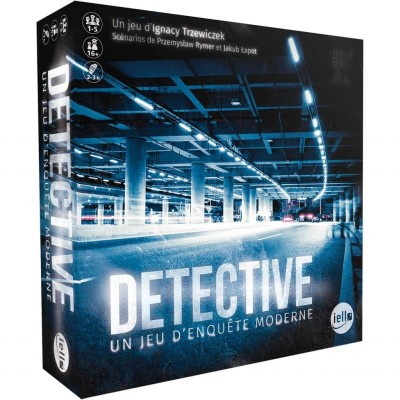 Iello - Detective un jeu d'enquête moderne (French Version)