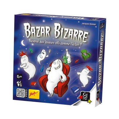 Gigamic - Jeu de cartes Bazar bizarre (French Version)