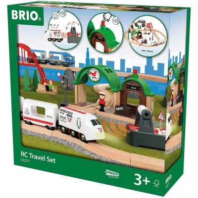 BRIO train - RC Travel Set