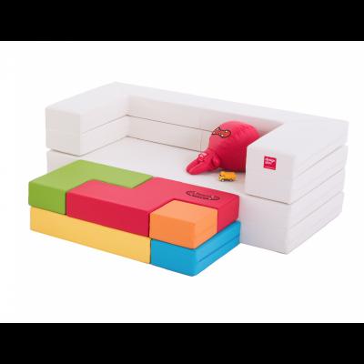 Designskin TETRIS Sofa avec cadre blanc