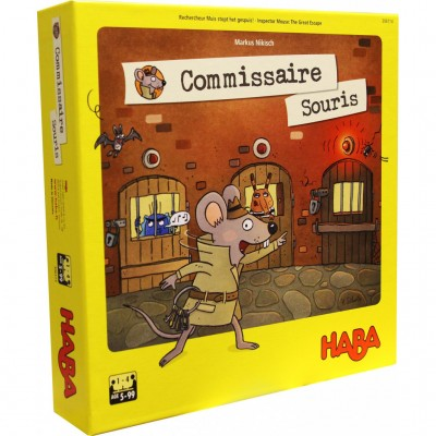 Haba - Commissaire Souris (French Version)