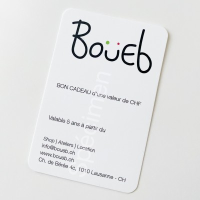 Boueb Gift voucher CHF 50.--