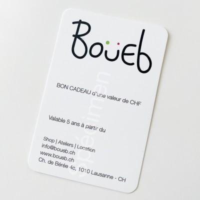 Boueb Gift voucher CHF 100.--