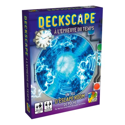 dV Giochi Deckscape - A l'épreuve du temps (French version)