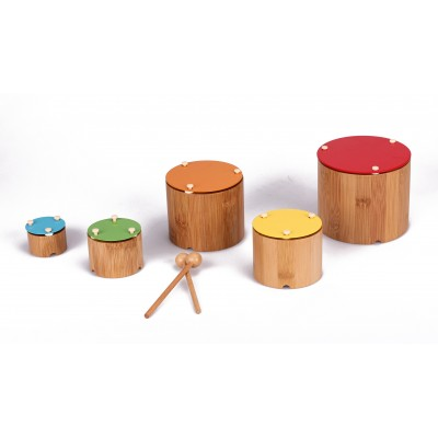 Spielba - Bamboo nesting Xylophone