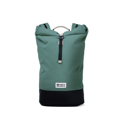 Mero Mero - Squamish Roll-Top Backpack V2 - Silver Pine