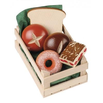ERZI - Wooden bakery crate
