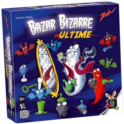 Gigamic - Jeu de cartes Bazar bizarre Ultime