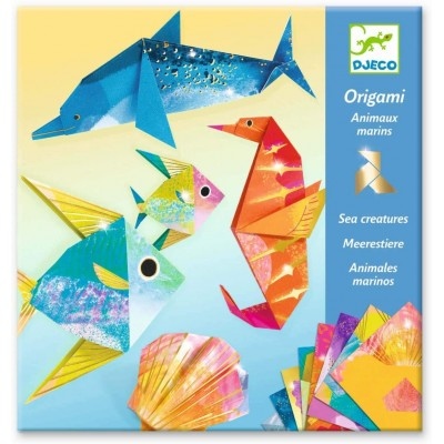 Djeco - Origami sea animals