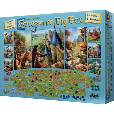 Asmodee - Carcassonne Big Box
