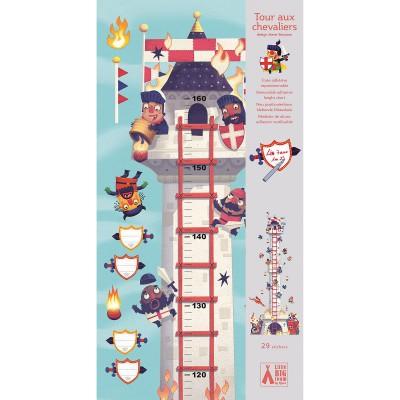 Little Big Room - Stickers toise tour aux chevaliers