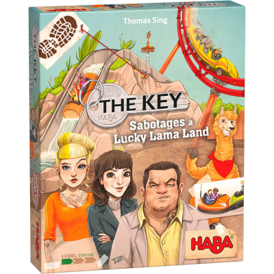 Haba - The Key – Sabotages à Lucky Lama Land (French...