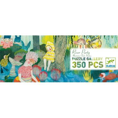 """DJECO - Puzzle 350 pcs """"River Party"""""""