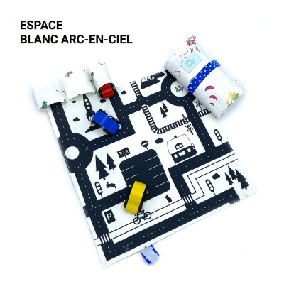 Tiny Magic CarPet Colors, car race - Space
