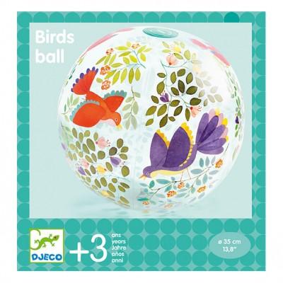 Djeco - Ballon gonflable Oiseaux