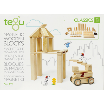 Tegu - Magnetic wooden game 42 pieces