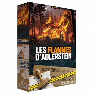 Origames - Les Flammes d'Adlerstein (French Version)