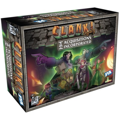 Origames - Clank ! - Legacy - Acquisitions Incorporated...