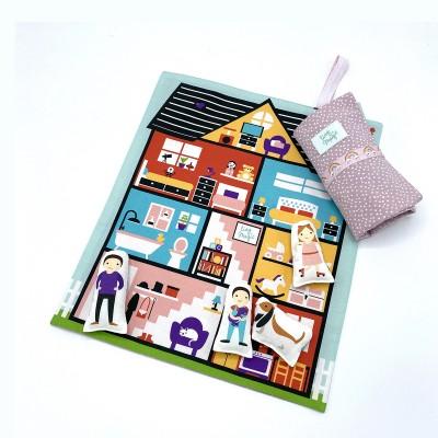 Tiny Magic Maison de poupées - Purple White Dots