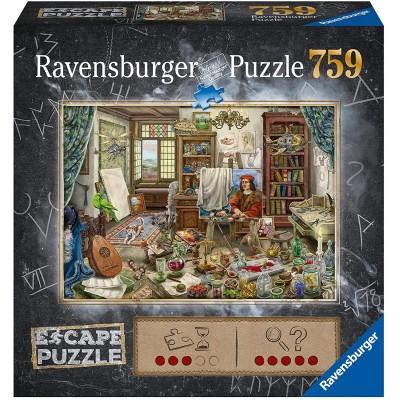 Ravensburger - Escape Puzzle Artist's Workshop