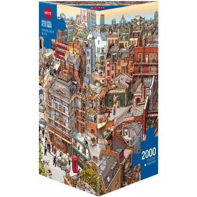HEYE - Puzzle Sherlock & Co 2000