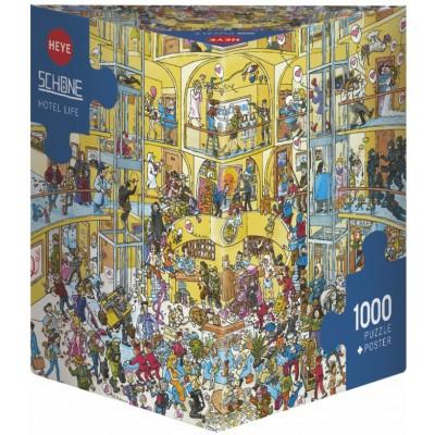 HEYE - Puzzle Hotel Life 1000