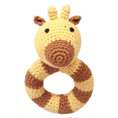 NatureZOO Ring rattle - Mr. Giraffe
