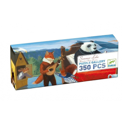 DJECO - Puzzle gallery Summer lake 350 pièces