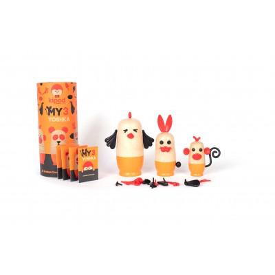 Kipod My 3 Yoshka Animals