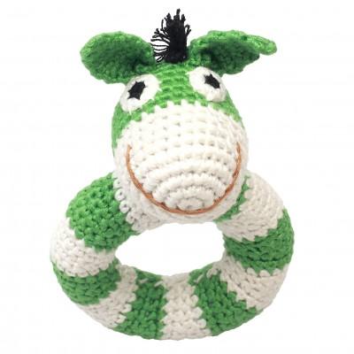NatureZOO Ring rattle - Mr. Donkey