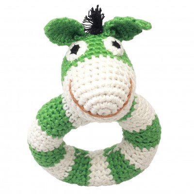 NatureZOO Ring rattle - Mr. Donkey