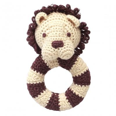 NatureZOO Ring rattle - Miss Lion
