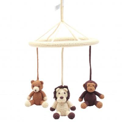 NatureZOO Mobile - Bear, Lion and Monkey