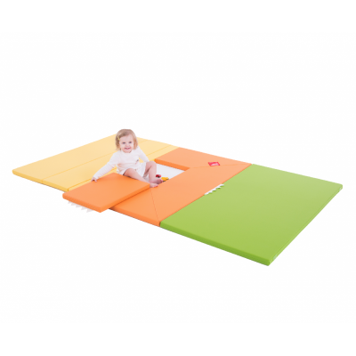 Designskin HOUSE Tapis de jeu orange