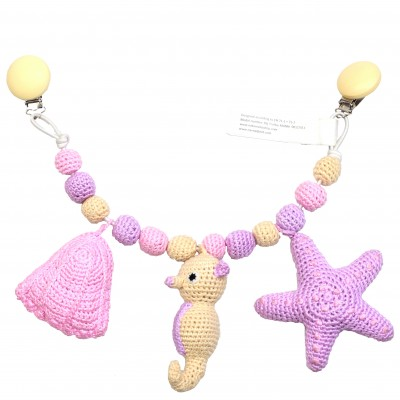 NatureZOO Large trolley mobile - Starfish, Seahorse and...