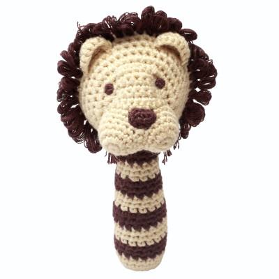 NatureZOO Rattle stick - Miss Lion