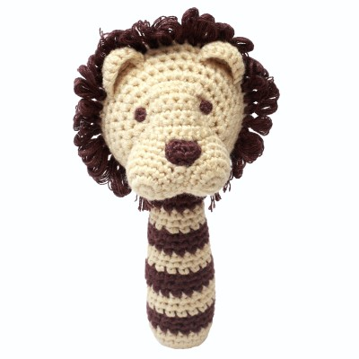 NatureZOO Rattle stick - Miss Lion