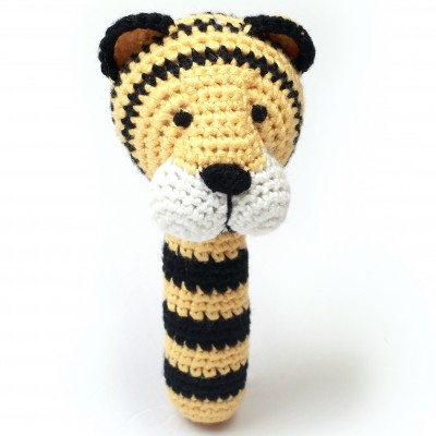 NatureZOO Rattle stick - Mr. Tiger