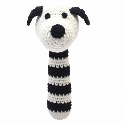 NatureZOO Rattle stick - Mr. Dog