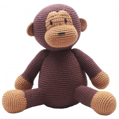 NatureZOO Teddy Bear - Mr. Monkey