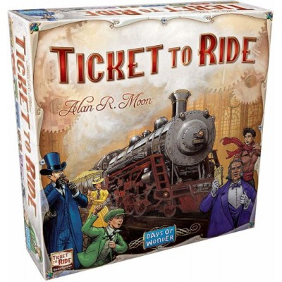 Days of Wonder Ticket to Ride multilingual edition
