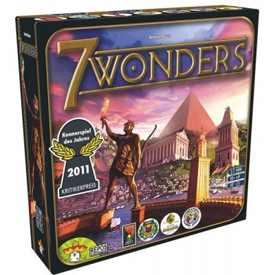 Repos Production 7 Wonders jeu de base