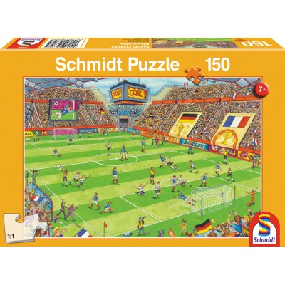Schmidt Puzzle Football match finals 150 pcs