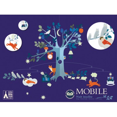 Djeco Grand mobile Nuit insolite