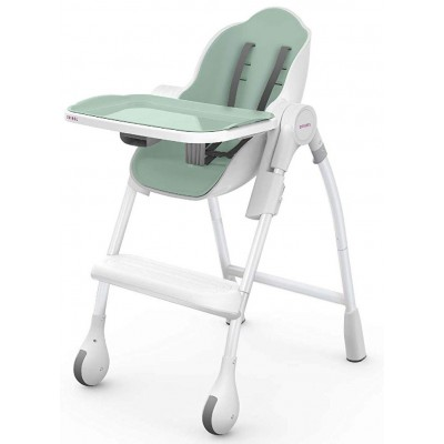 Oribel Cocoon High Chair - Chaise Haute Pistachio Macaron