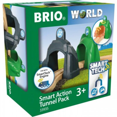 BRIO Lot de 2 portiques intelligents Smart Tech